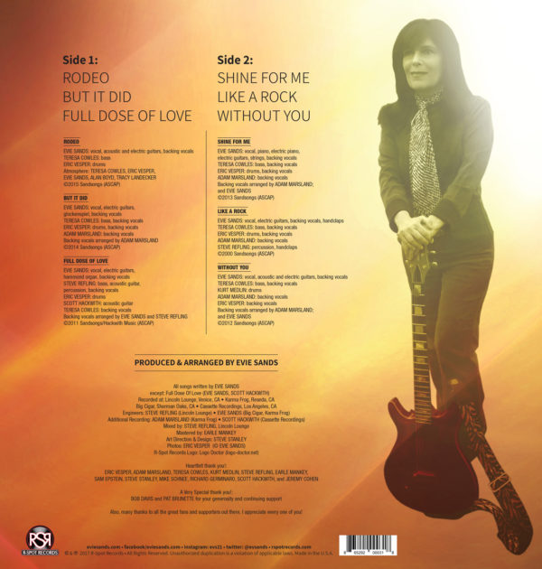 Shine For Me - Back Cover